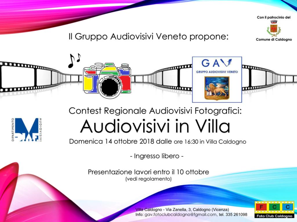 Audiovisivi in Villa Caldogno